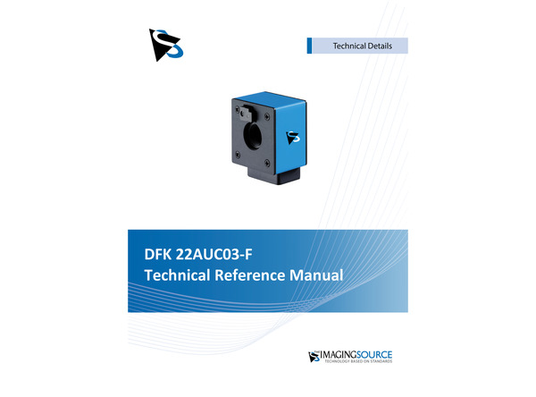 DFK 22AUC03-F Technical Reference Manual