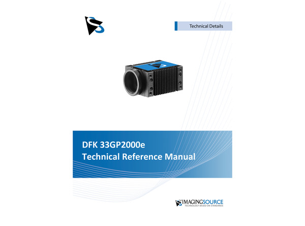 DFK 33GP2000e Technical Reference Manual