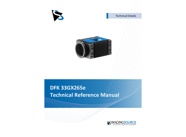 DFK 33GX265e Technical Reference Manual