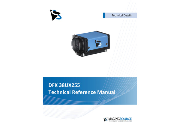 DFK 38UX255 Technical Reference Manual
