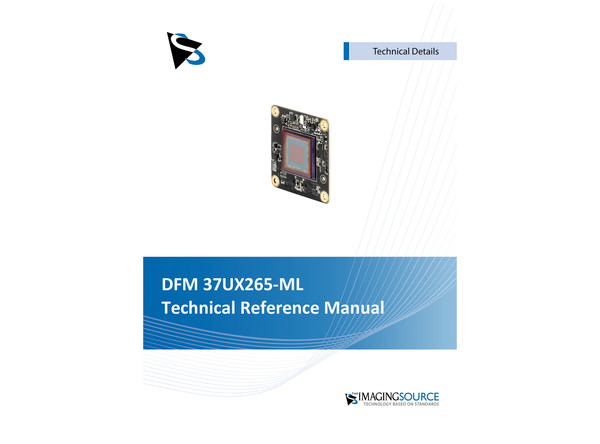 DFM 37UX265-ML Technical Reference Manual