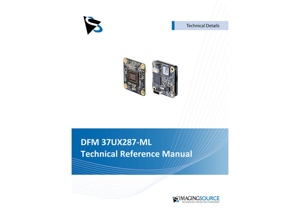 DFM 37UX287-ML Technical Reference Manual
