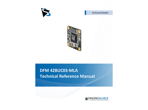 DFM 42BUC03-MLA Technical Reference Manual