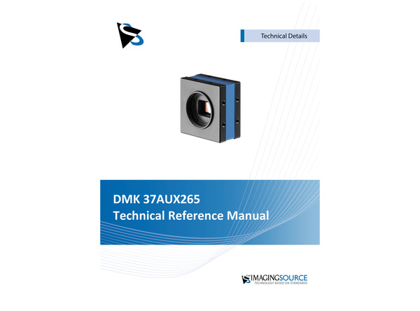 DMK 37AUX265 Technical Reference Manual
