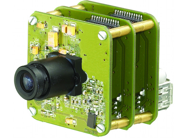 Industrial Cameras: CCD - 21, 31, 41 and 51 Series - Board, Lens holder, Lens