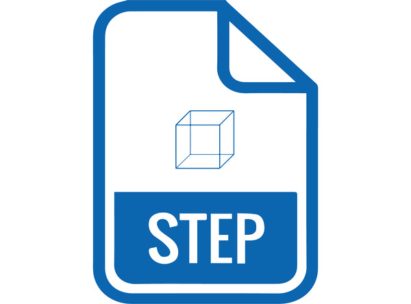 STEP File C-Mount (135-12-12)